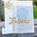 Glitter Thank You Bags