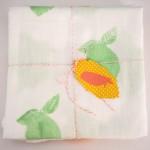 Stamped Fruit Tea Towels