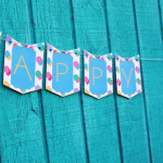 Happy Birthday Bunting Banner | Free Printable Friday