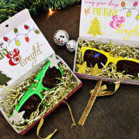 Merry & Bright Sunglasses Party Favors