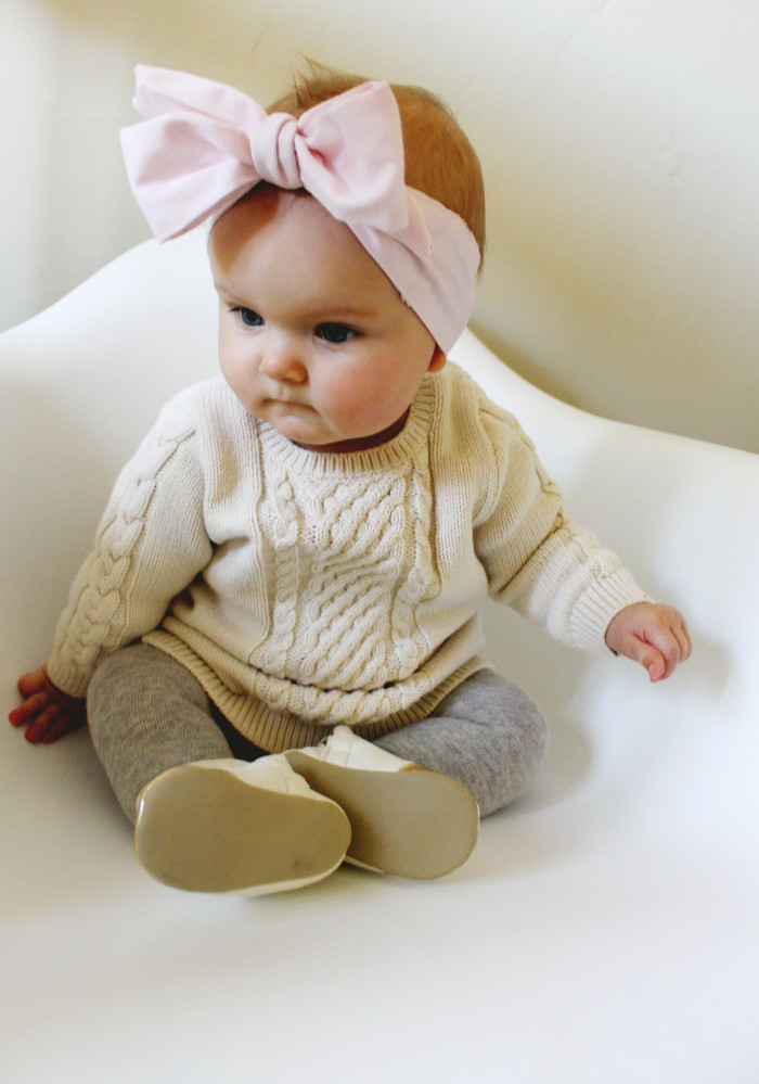 Diy Baby Oversized Bow Headwraps A Joyful Riot