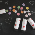 Confetti popper valentines. Fill with valentine confetti and cupids arrow! | A Joyful riot