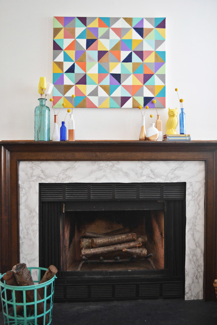 15 Marble Fireplace Makeover A Joyful Riot