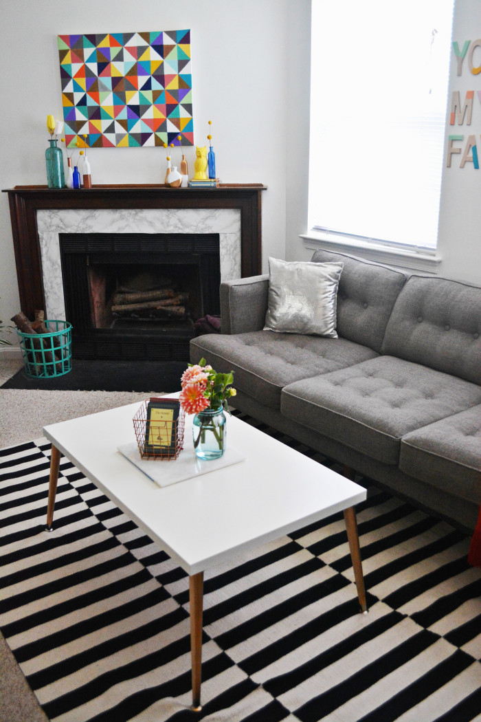 Malissa s living room updates a joyful riot for Living room updates
