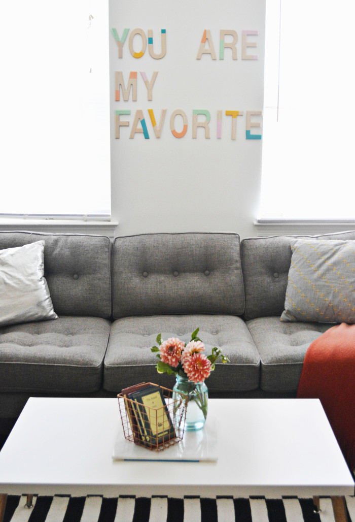 Malissa 39 s living room updates a joyful riot for Living room updates