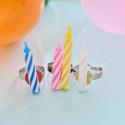 DIY Birthday Candle Rings @ajoyfulriot #kidscraft #birthday #party