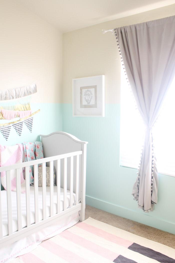 Stella S Whimsical Glam Diy Nursery A Joyful Riot