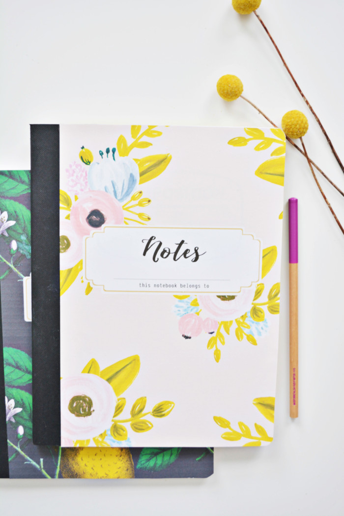 School Notebook Cover Design : Free printables a joyful riot part