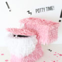 Potty Training Piñata (DIY Toilet Piñata)