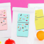 DIY Printable Custom Lunchbags | Retro Fridge-with-Flair Clipart