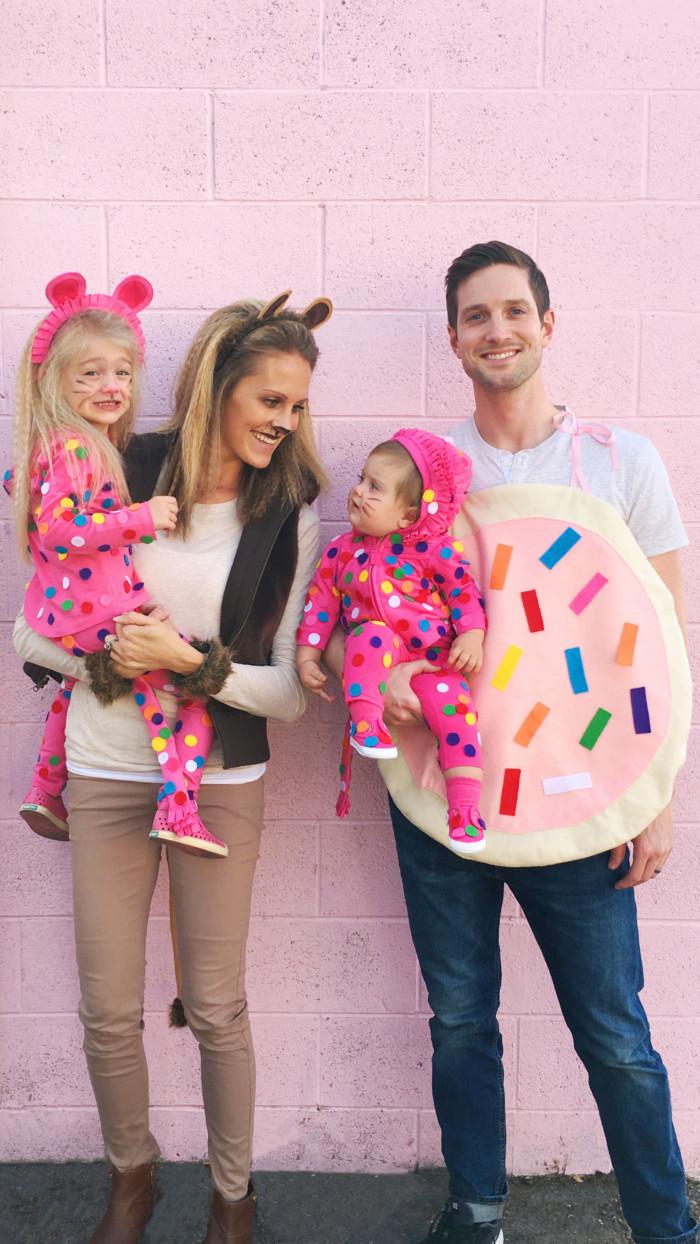 DIY animal cookie costume @ajoyfulriot