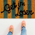 DIY Mean Girls Doormats